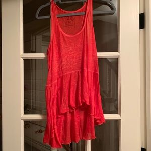 Free people light weight tank top
